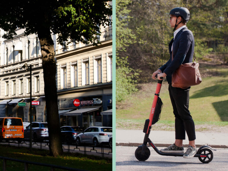 Transporter i städerna utsläppsbovar