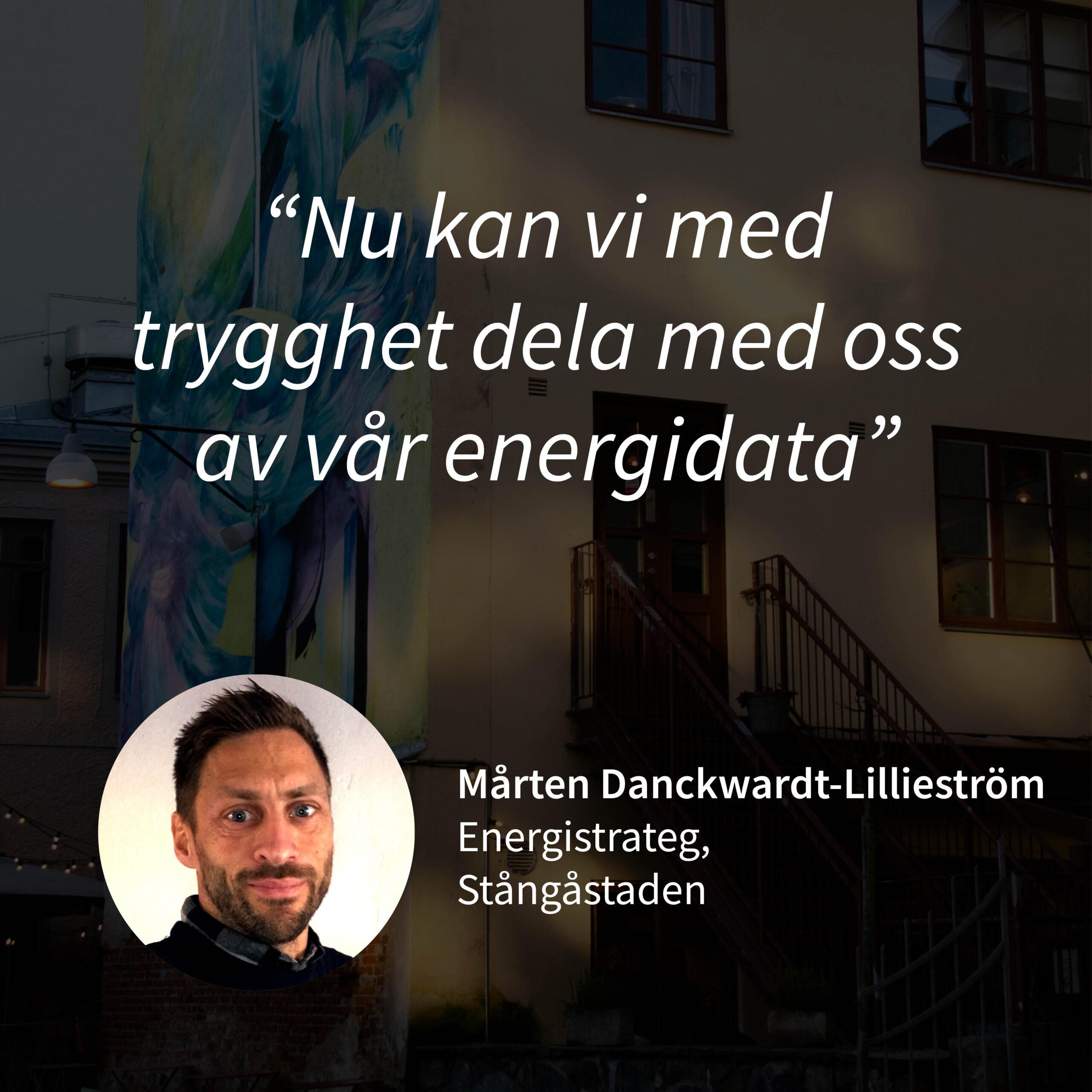 Kundcase Mårten Danckwardt-Lillieström Stångåstaden